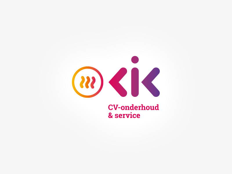 Corporate Identity Kik CV-onderhoud & service