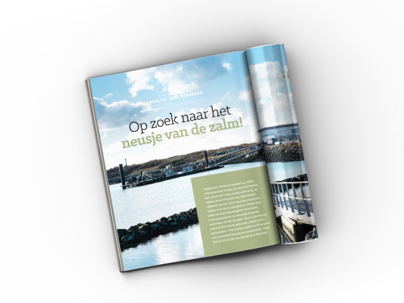 Corporate magazine Hanse Staalbouw